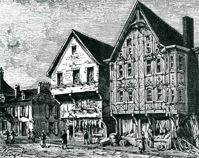 Market near Hotel de La Cloche