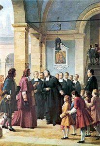 Archbishop of Rouen visits Saint Yon