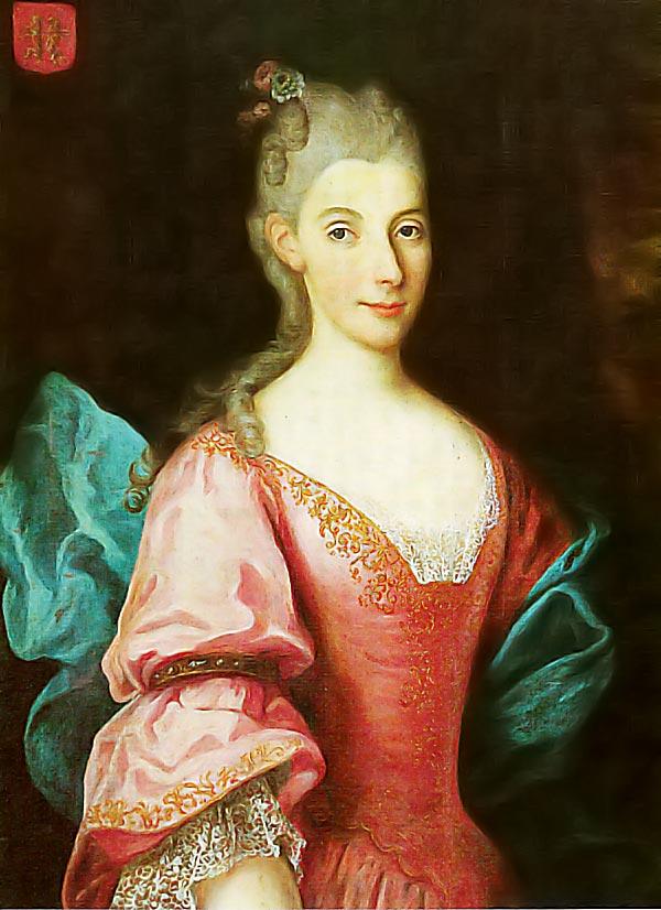 De La Salle's mother Nicolle Moët de Brouillet