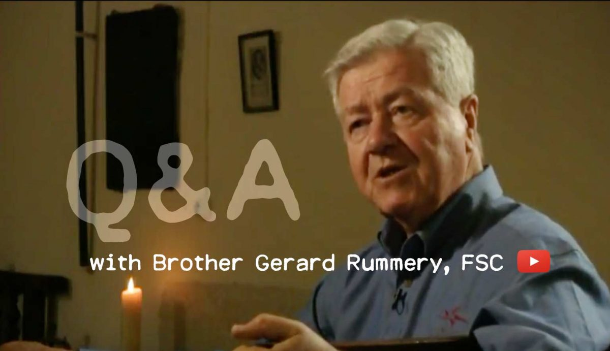 Q&A with Brother Gerard Rummery, FSC